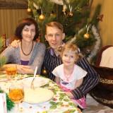 Бичукины - Таня, Андрей и Маша