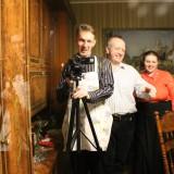 Попытались снять на видео Таню, но попались в объектив её фотоаппарата