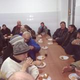Чаепитие во время проповеди Евангелия