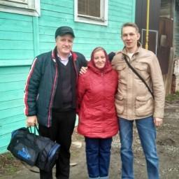 Эдуард, Татьяна и Андрей. Астрахань (27 марта 2017г.)